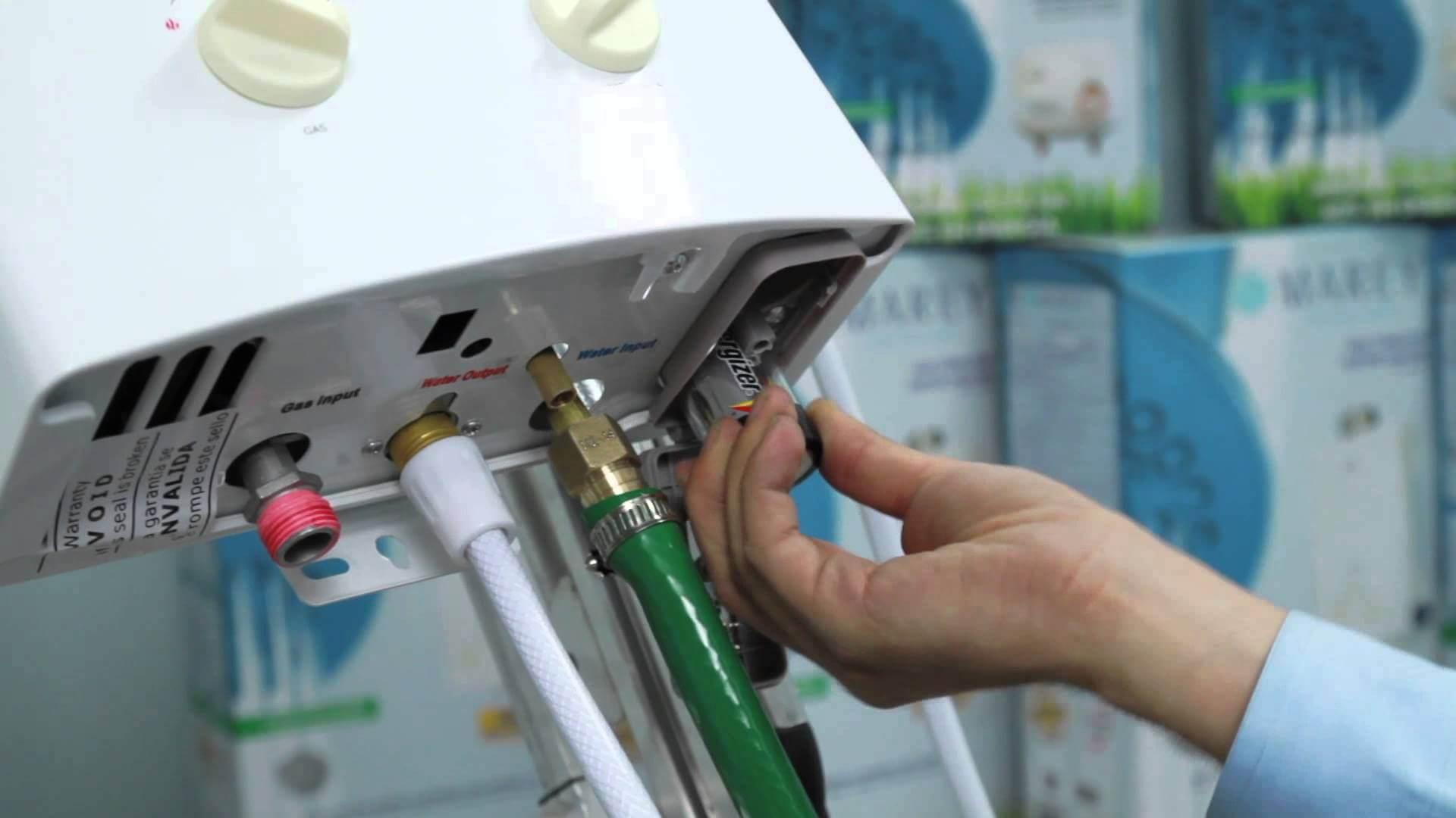 geyser-installation